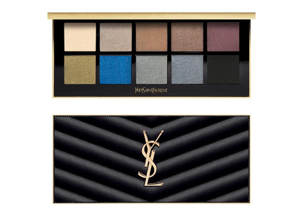 Paletka očních stínů Couture Colour Clutch Palette Tuxedo, YSL, prodává Sephora, 2440 Kč